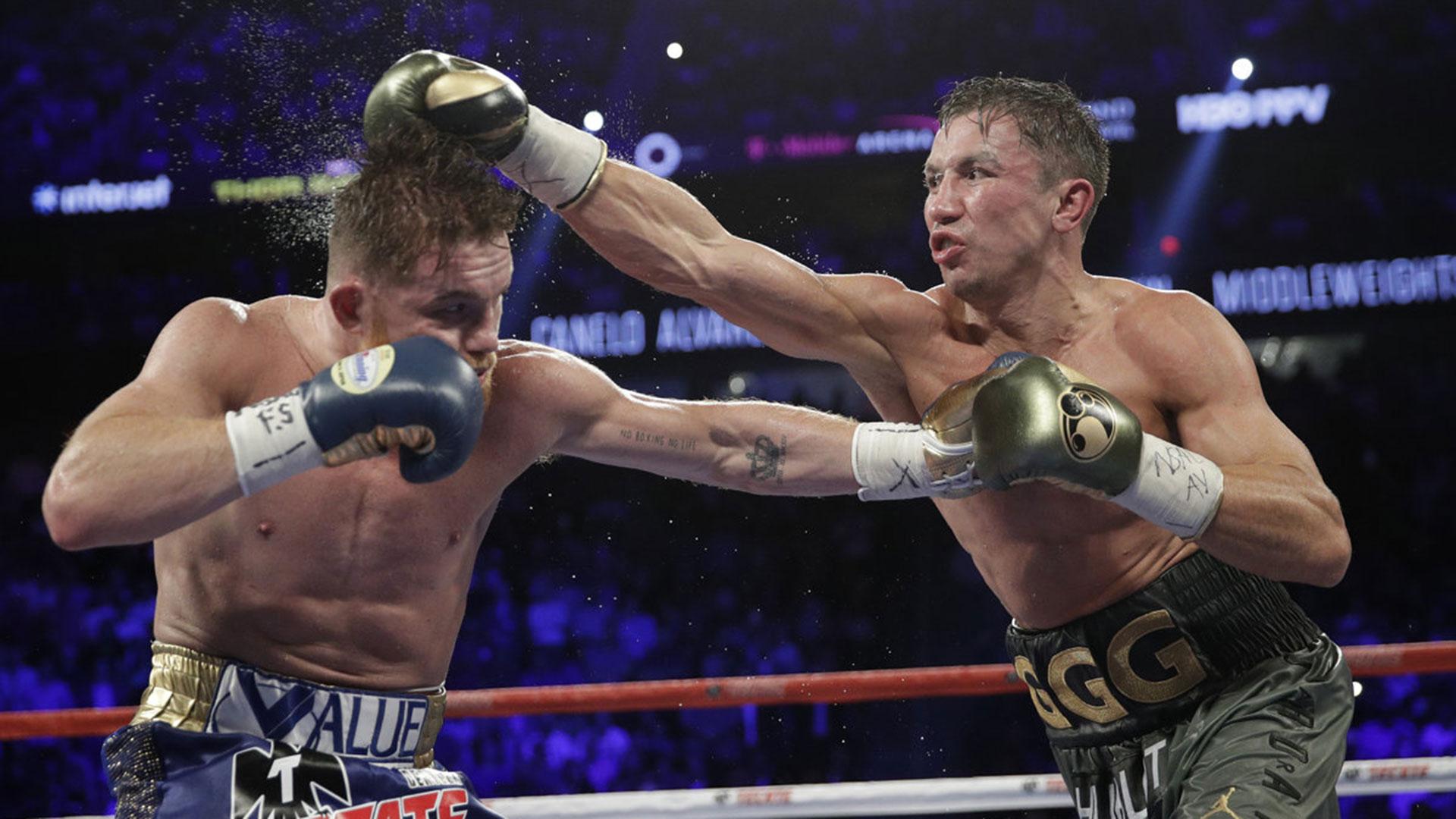 "Golovkin y ""Canelo"" Álvarez pelearán en Las Vegas la revancha tras el empate (AP)"
