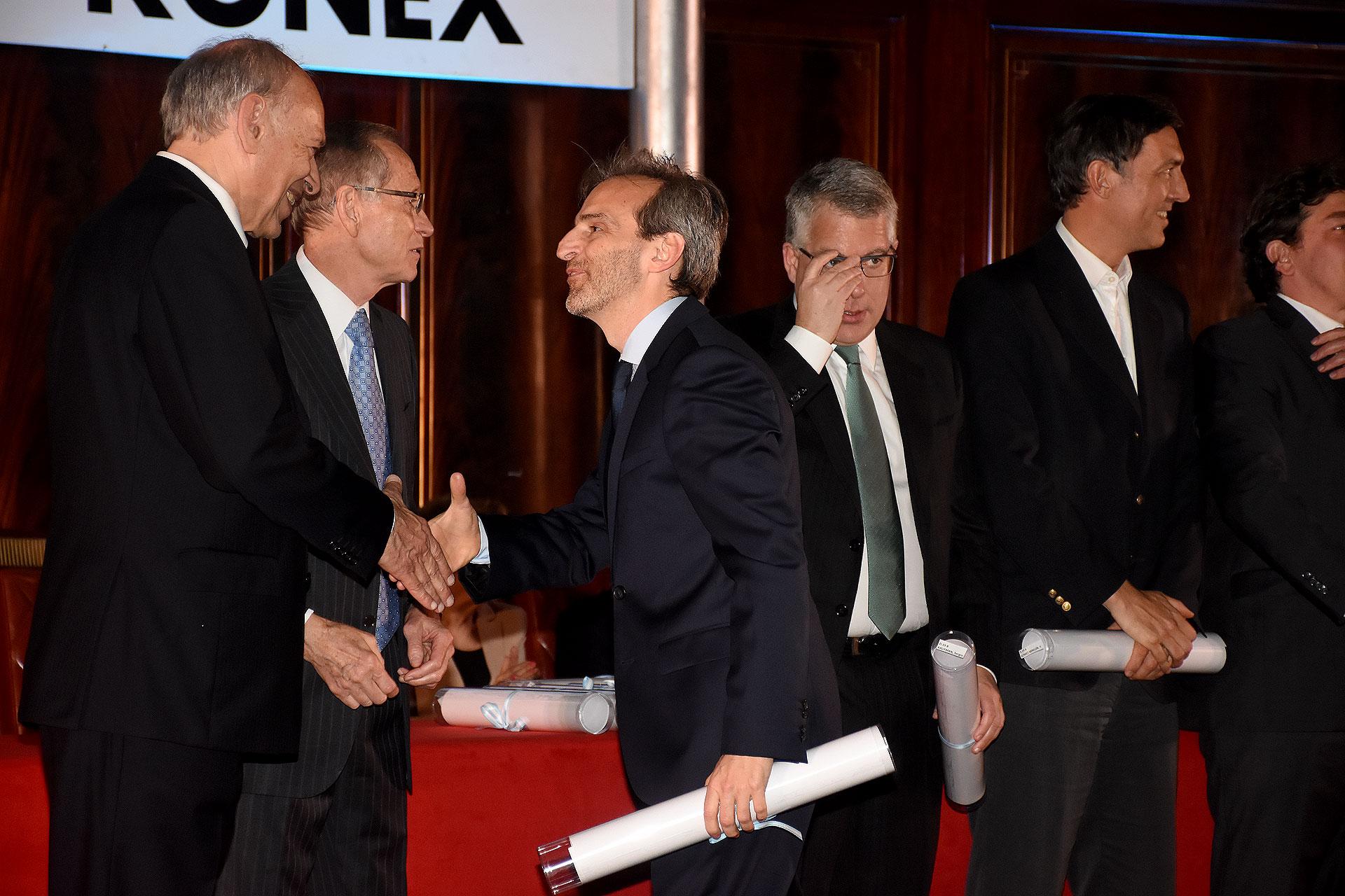 Ejecutivos del Comercio, de la Banca y de los Servicios: Facundo Gómez Minujín, Sergio Kaufman, Federico Procaccini, Guillermo Rivaben y Martín Zarich