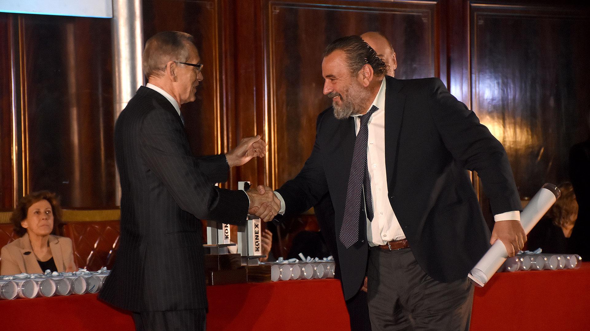 Adalberto Rodríguez Giavarini y el fiscal José María Campagnoli