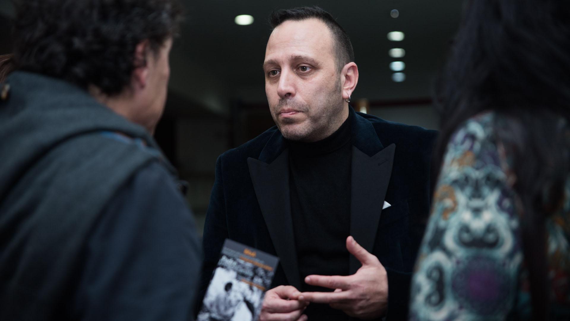 Alejandro Palacios, el autor de las fotos