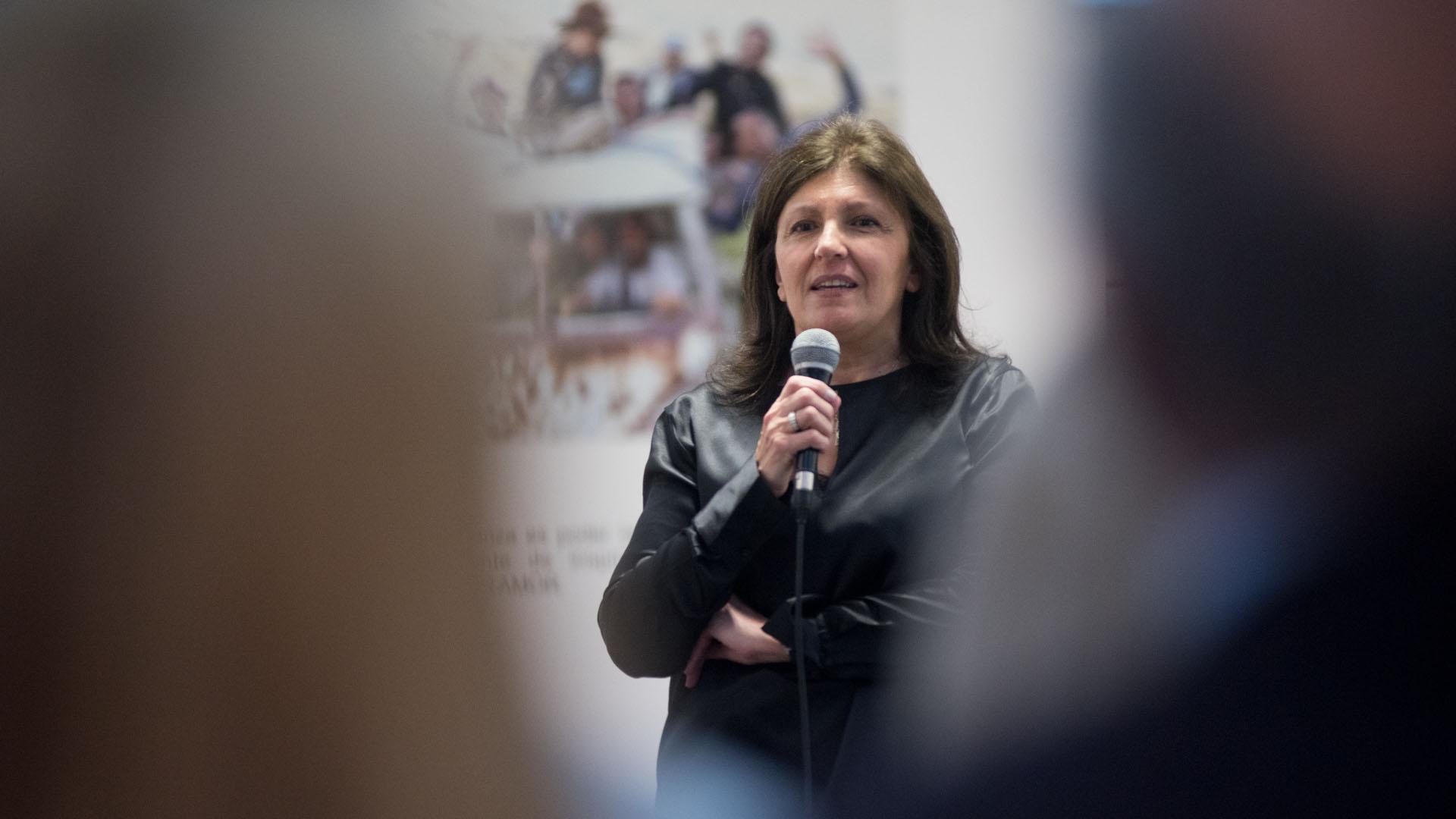Lic. Alicia Daher Presidente de la Fundación Nínawa Daher