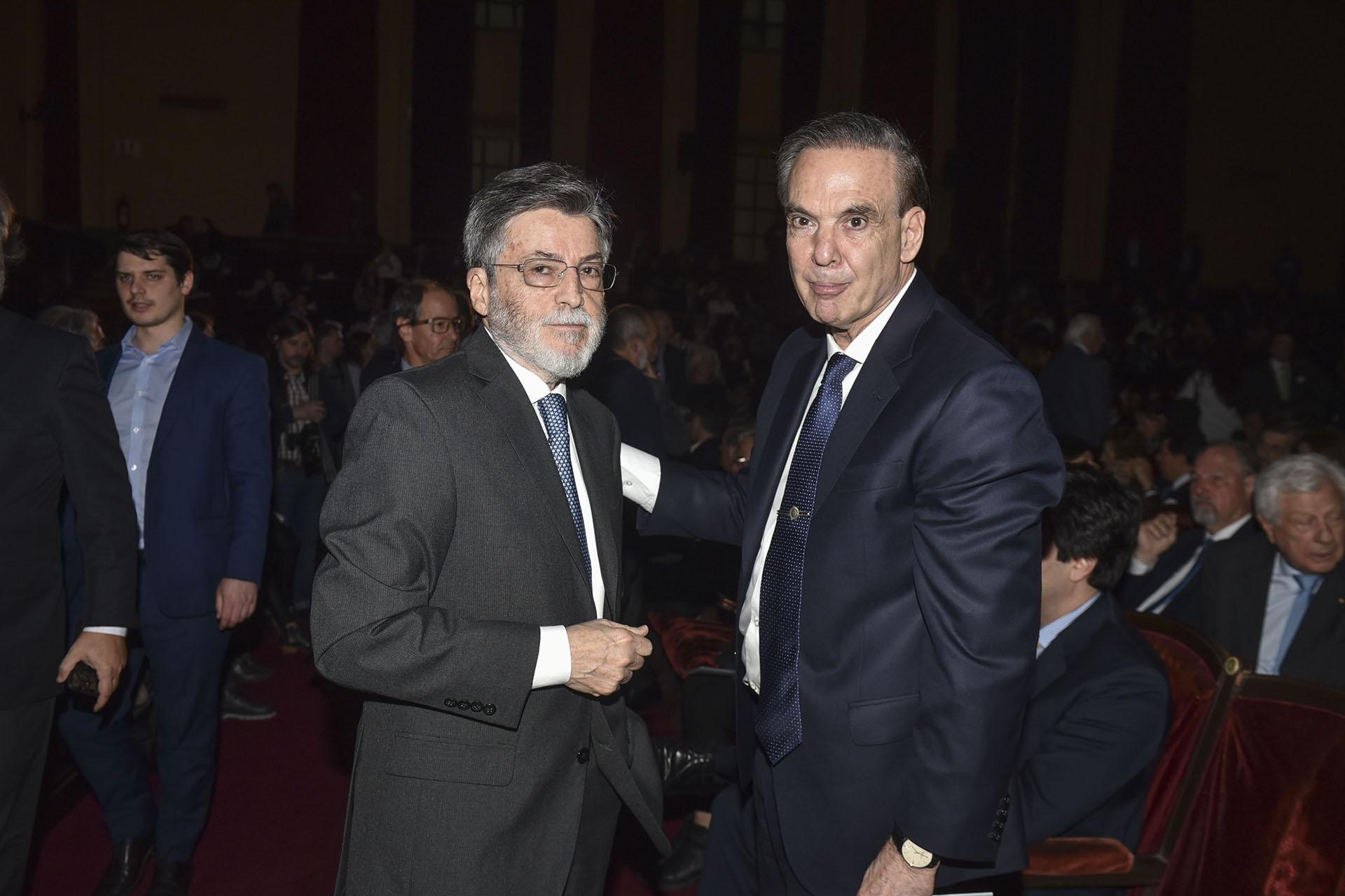 Alberto Abad y Miguel Ángel Pichetto