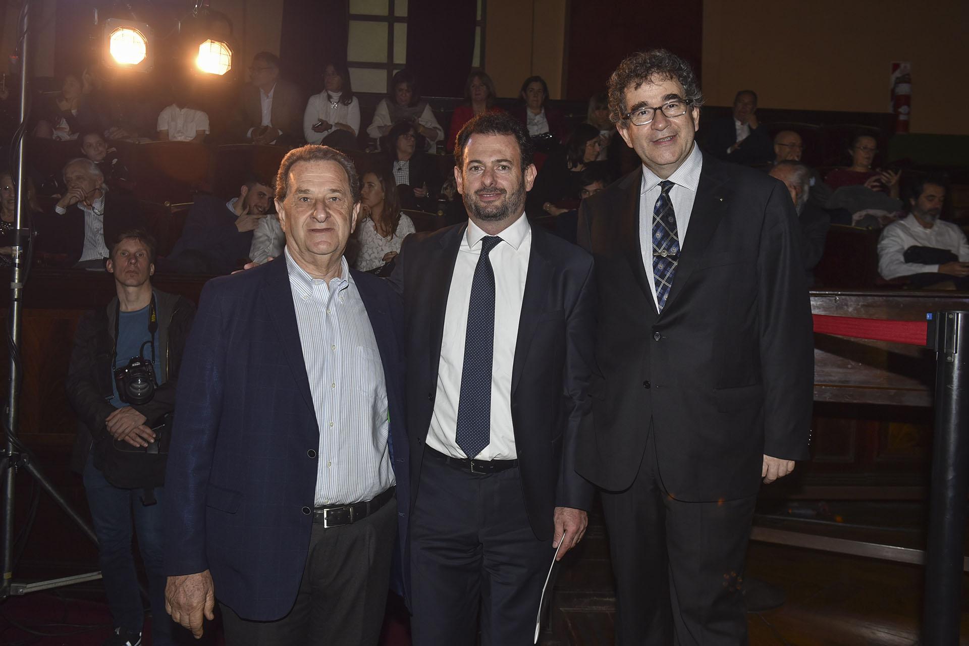 Bernardo Kosacoff, José Urtubey y José Siaba Serrate