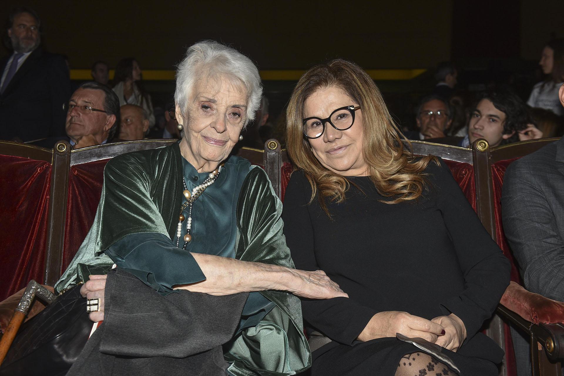 Graciela Fernández Meijide y Graciela Camaño