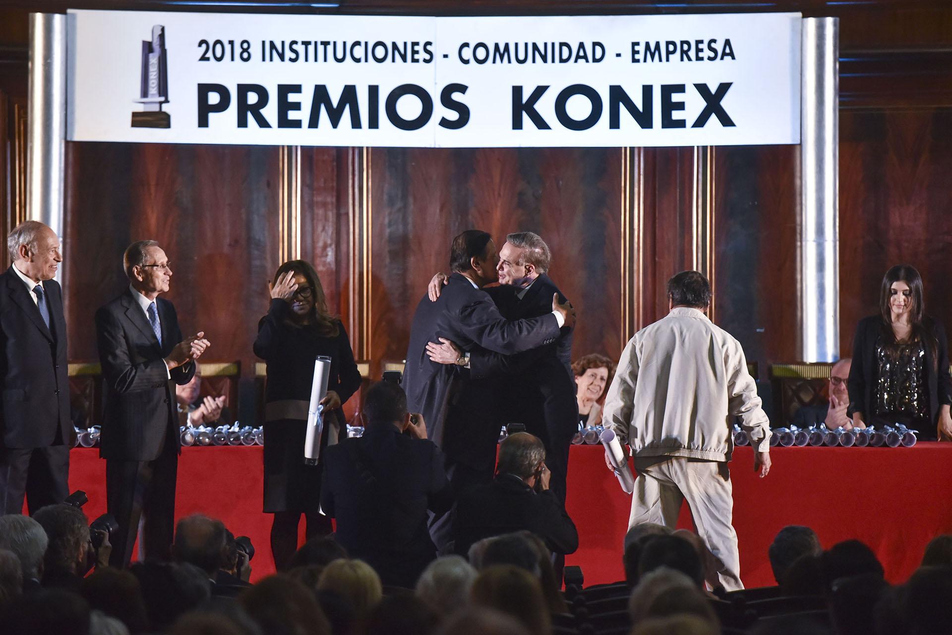 El senador Miguel Ángel Pichetto