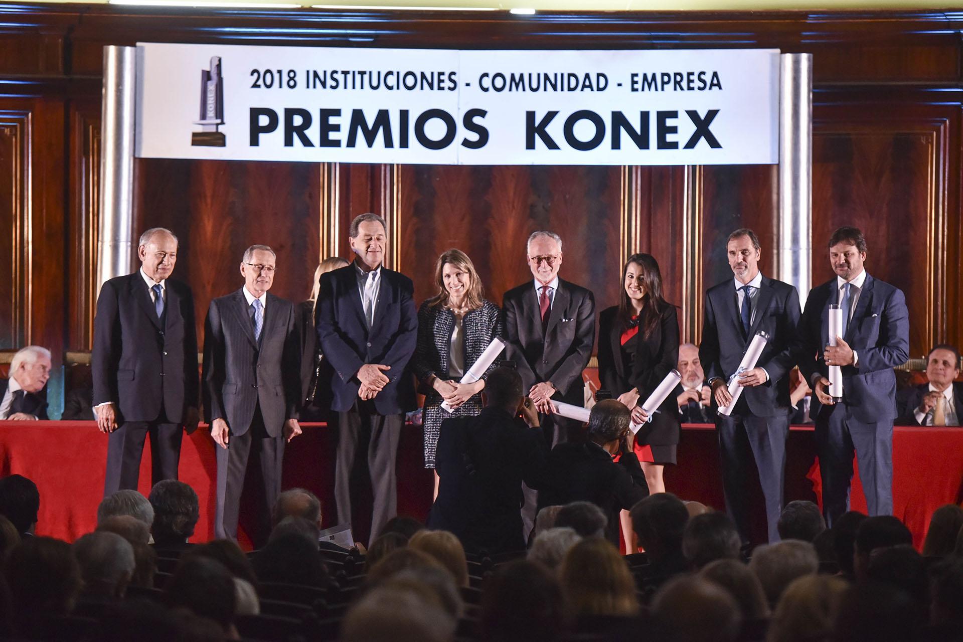 Ejecutivos de la Industria: Isela Costantini, Guillermo Hang, Daniel Herrero, Miguel Kozuszok y Gastón Remy