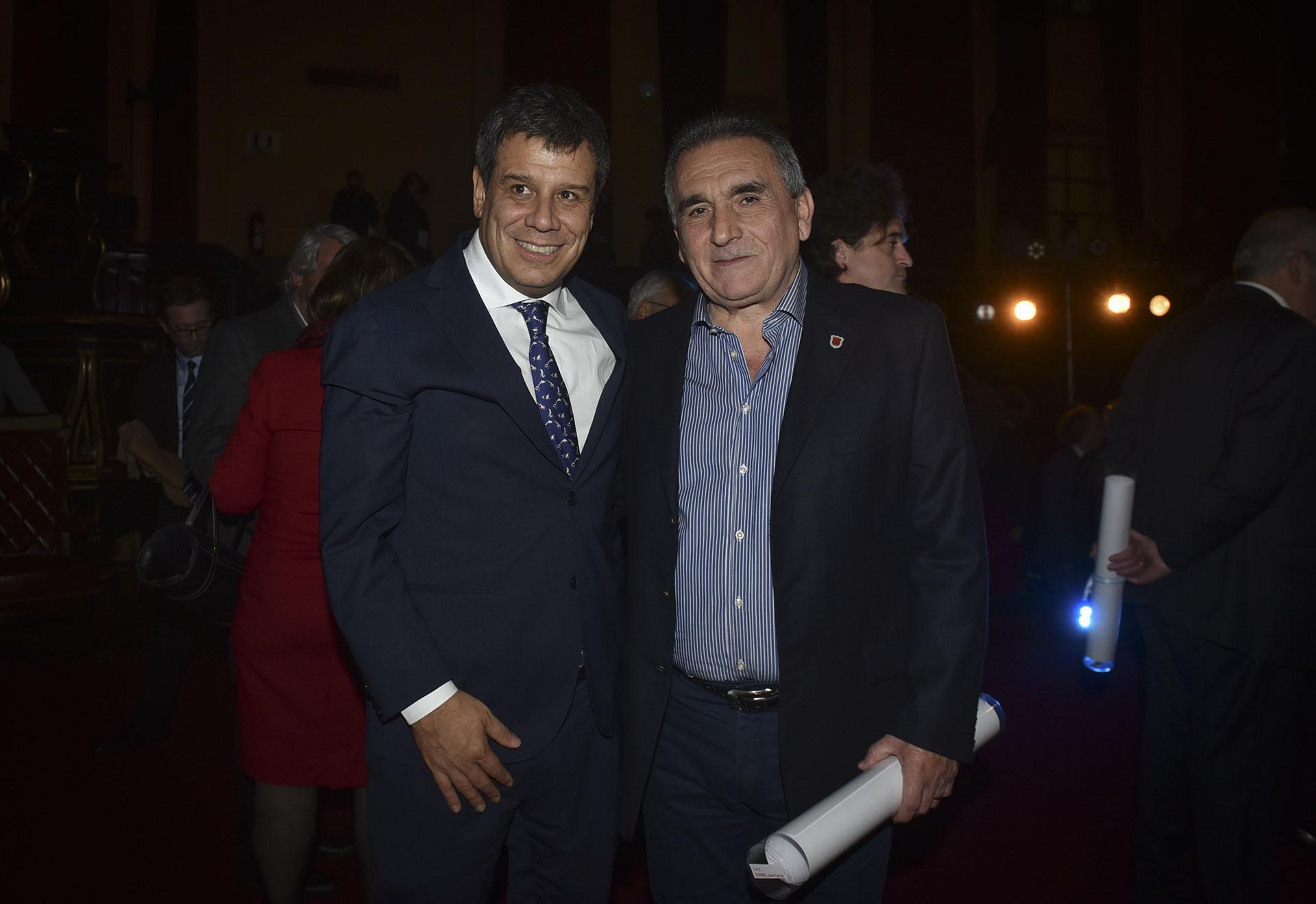 Facundo Manes y Juan Carlos Schmid