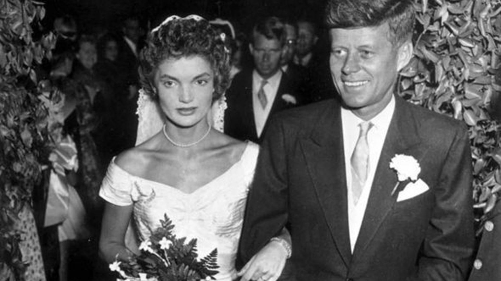 A 65 Años De La Boda De Jackie Y John Kennedy Una Tormentosa