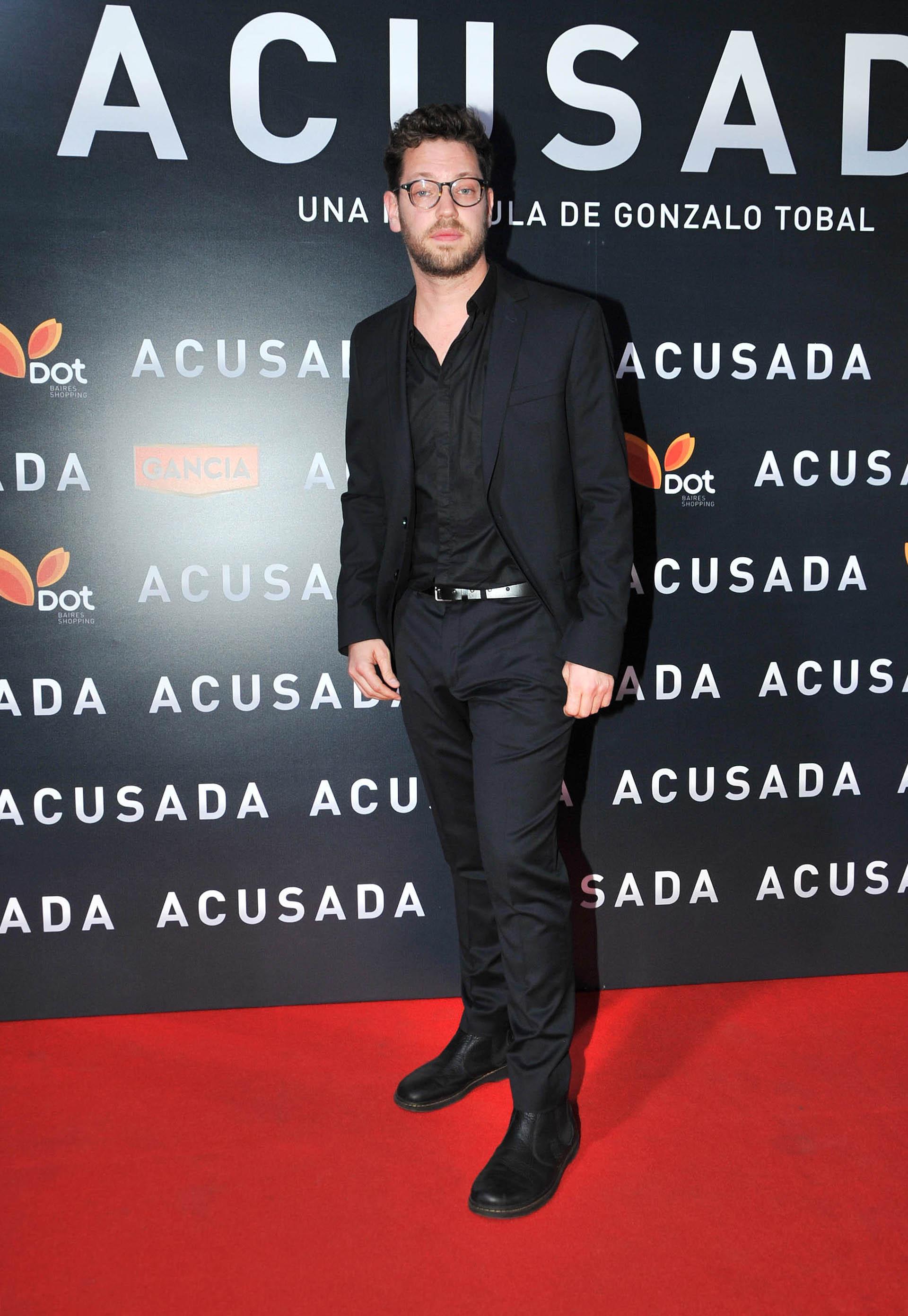 Gonzalo Tobal, director de Acusada