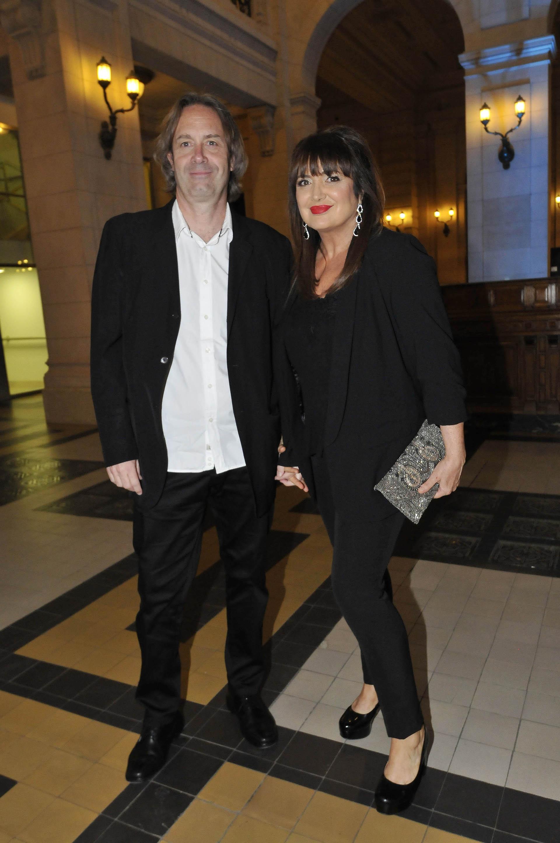 Patricia Echegoyen y su marido (Fotos: Verónica Guerman / Teleshow)