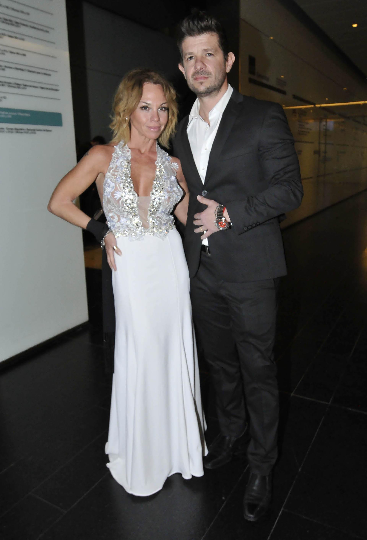 Lorena Paola y su novio