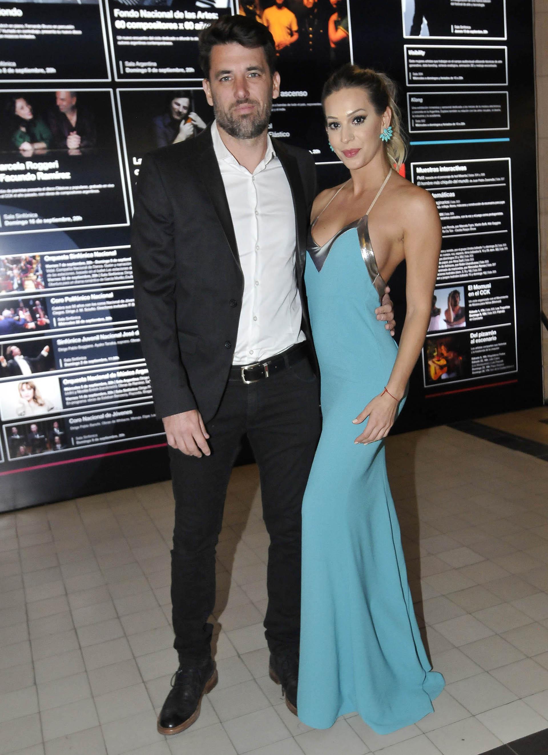 Noelia Marzol y su pareja