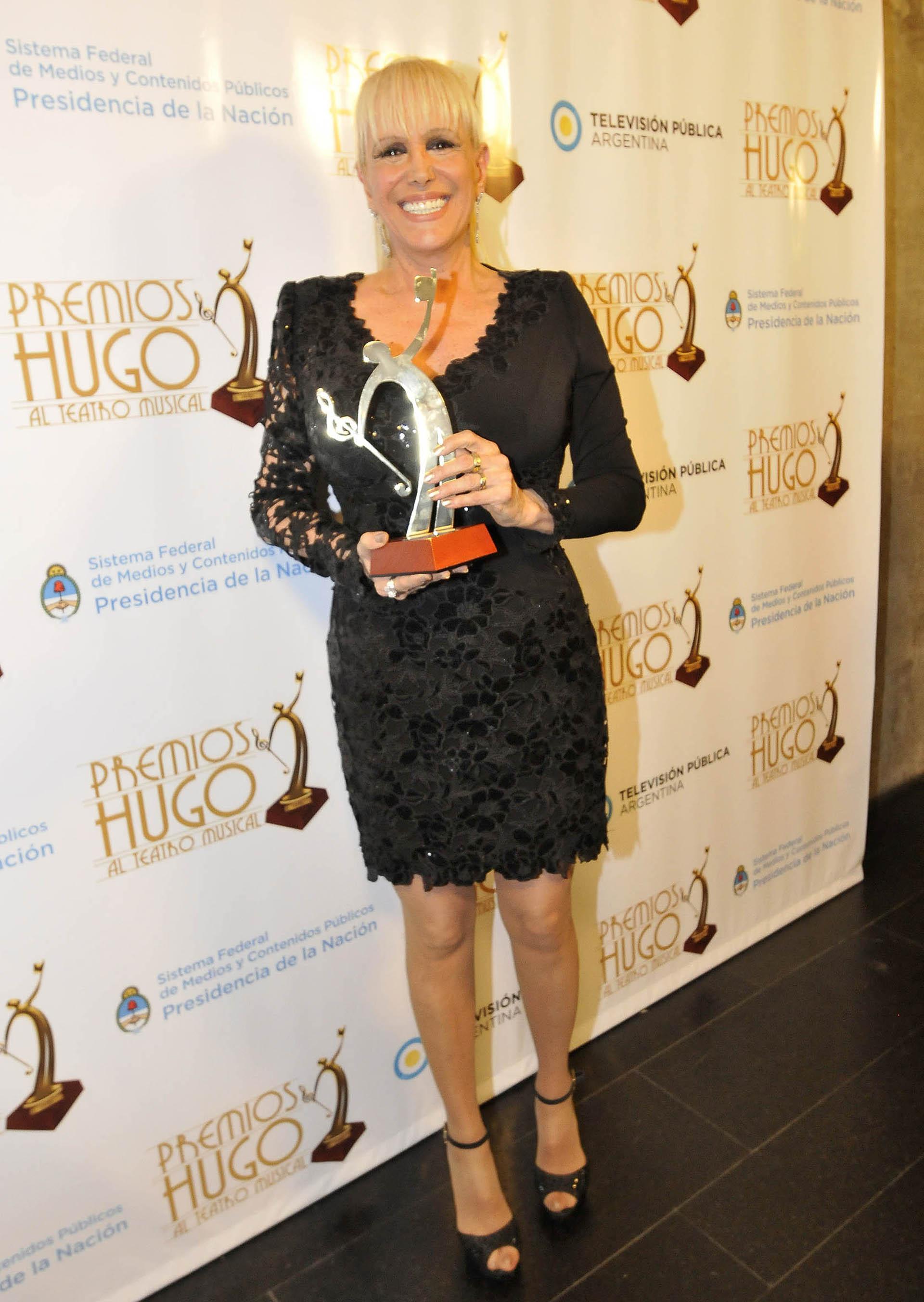 """Valeria Lynch fue distinguida en los Premios Hugo 2018 por su interpretación en """"Sunset Boulevard"""". La obra obtuvo el galardón de Oro y fue el más premiado (Verónica Guerman)"""