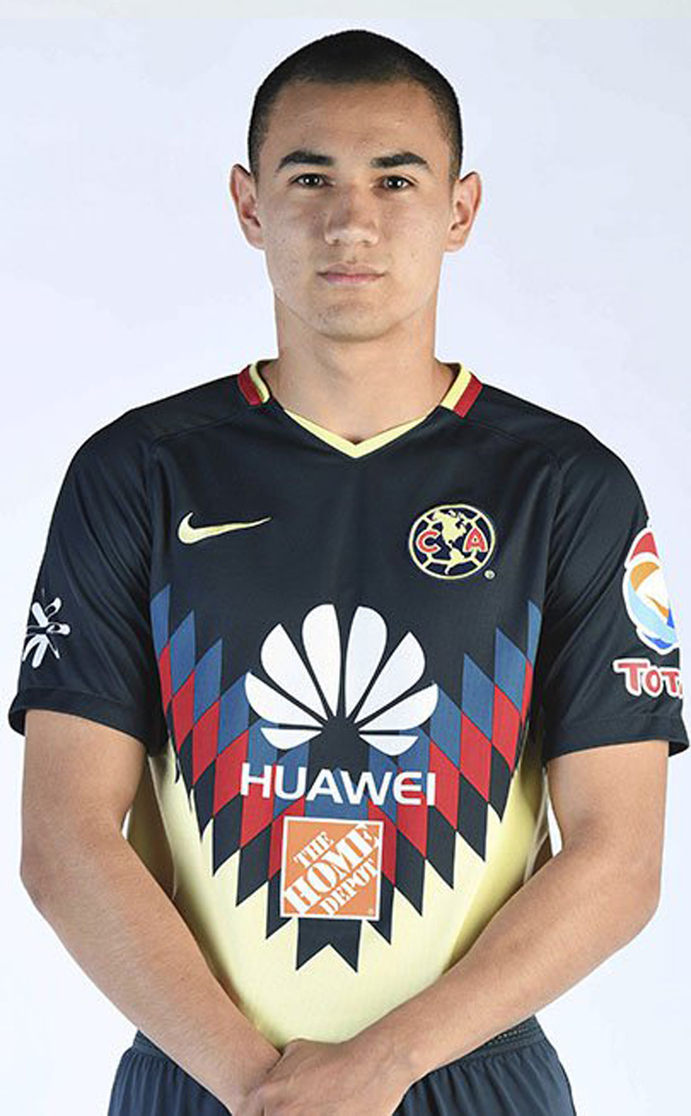 Arturo Sánchez, juvenil del América de México