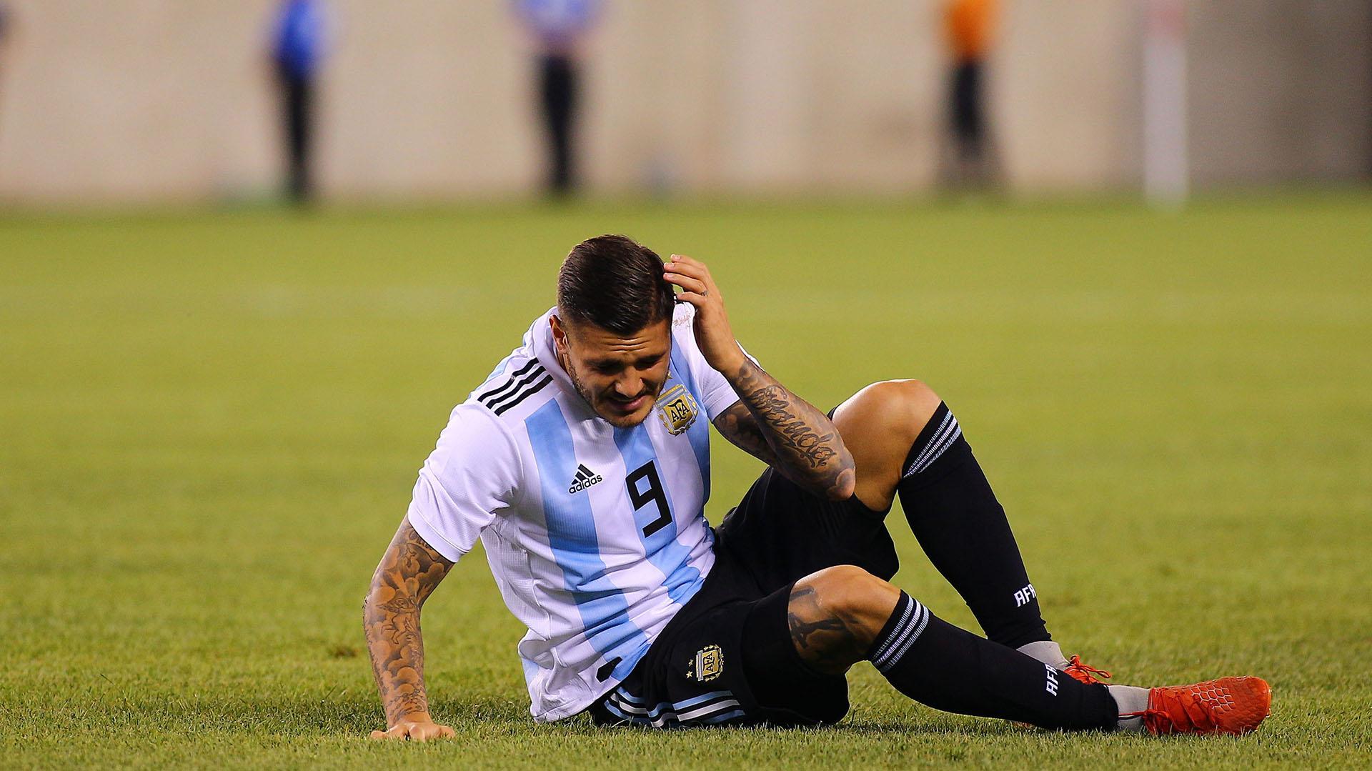 Icardi quedaría afuera de la Selección por su conflicto con el Inter (Fotobaires)