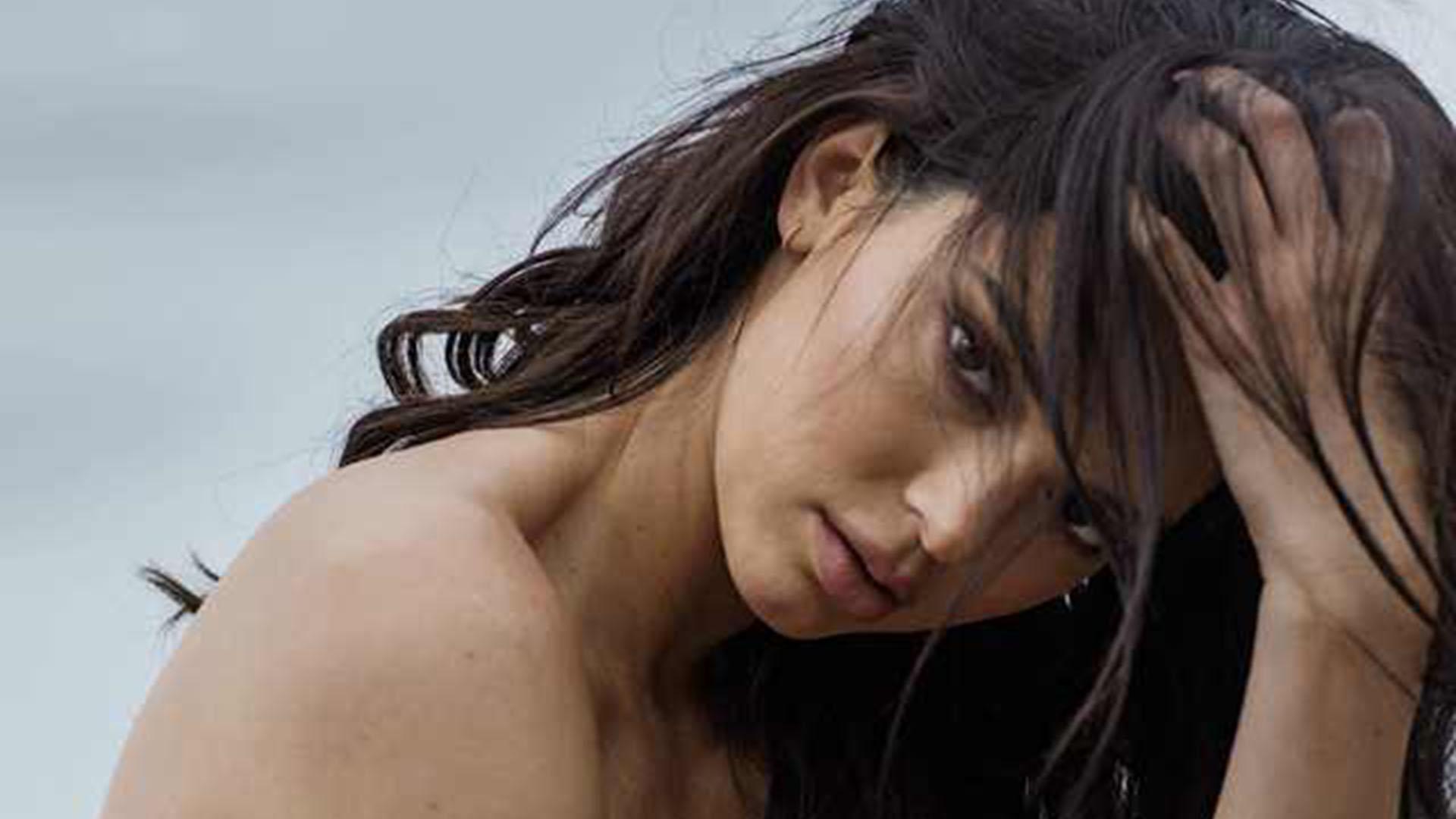 Andrea Legarreta Cojiendo filtraron fotos robadas de kendall jenner desnuda - infobae