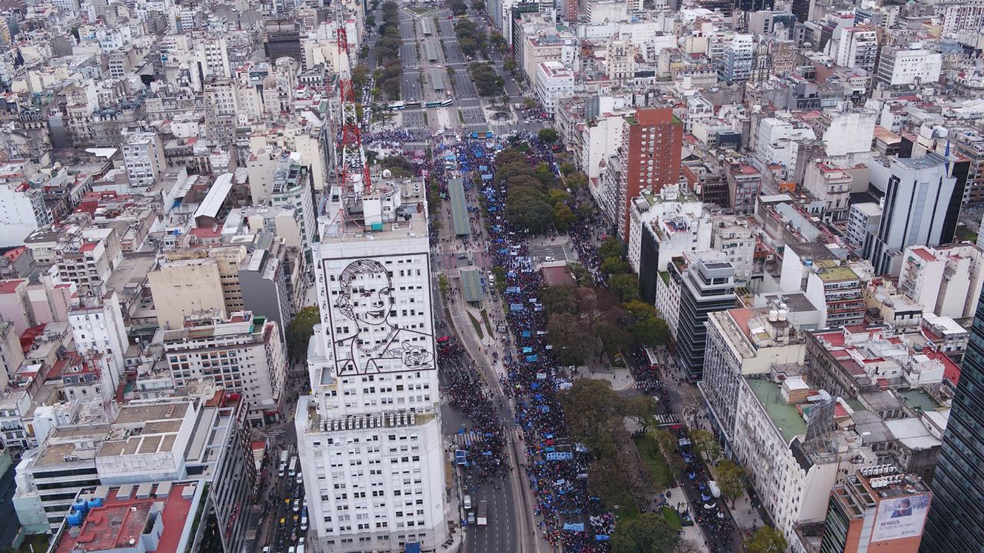 La protesta generó cortes y desvíos de tránsito