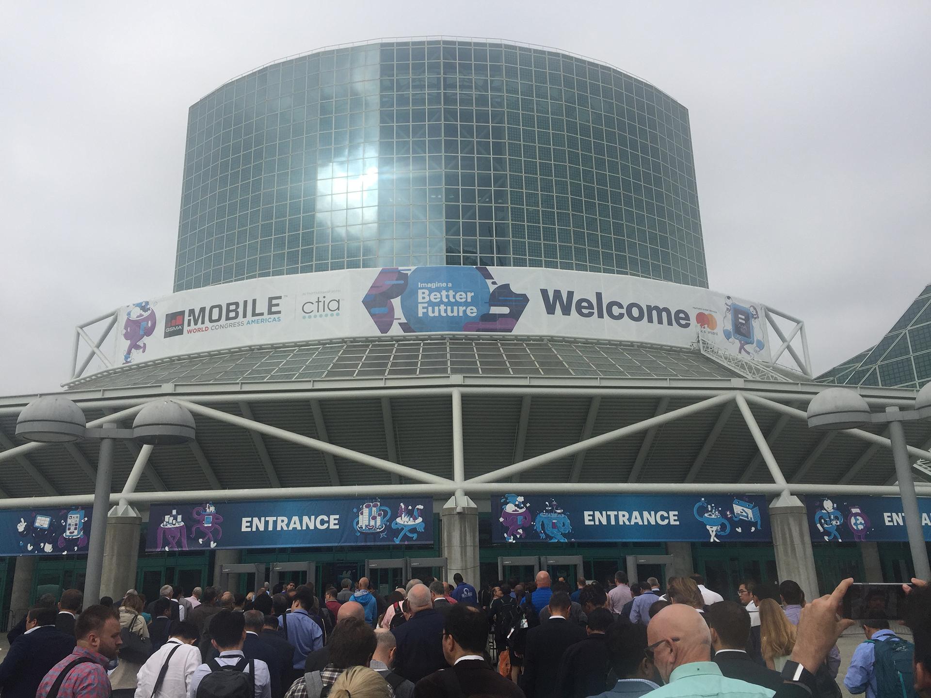 El imponente centro de convenciones de Los Ángeles donde se realiza el MWC 2018