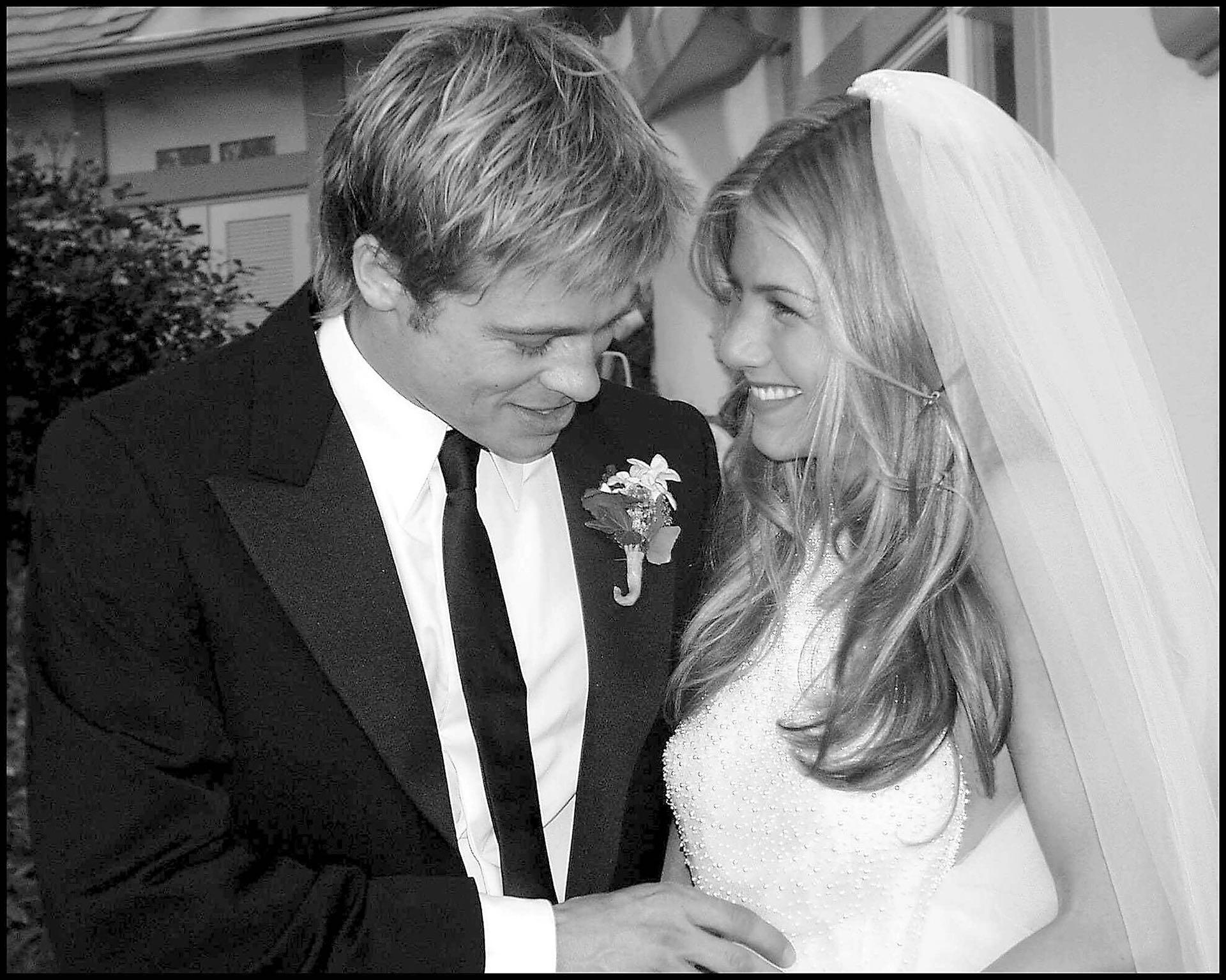 Jennifer Aniston estuvo en pareja con Brad Pitt