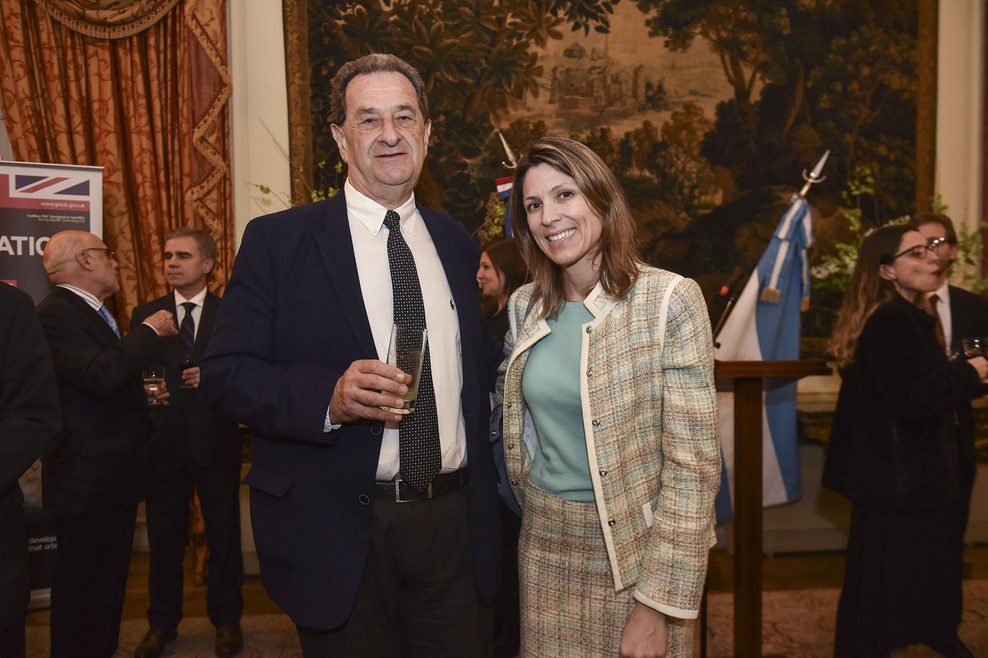 Bernardo Kosacoff e Isela Costantini, distinguida en la disciplina Ejecutivos de la Industria