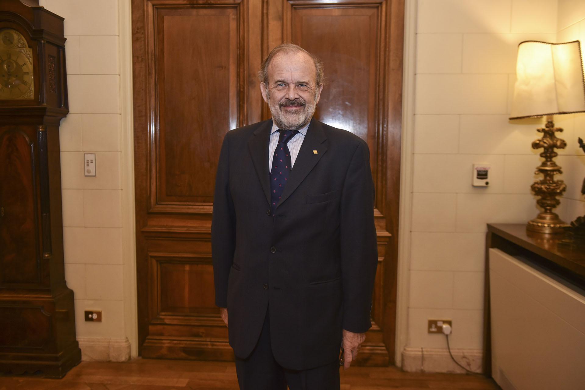 El diputado Eduardo Amadeo
