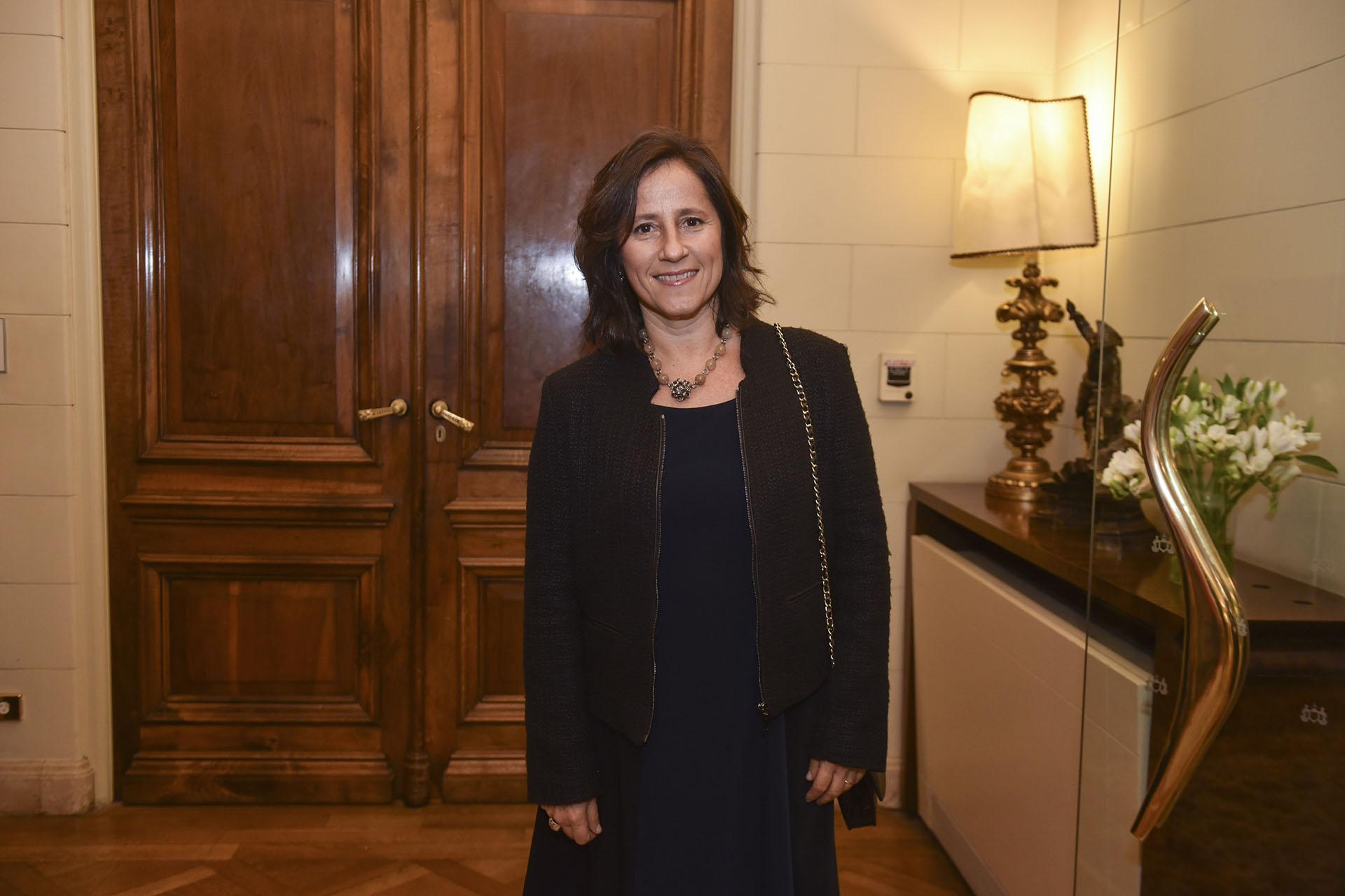 Agustina Catone, directora de Fundación Telefonica, entidad que fue premiada en la disciplina Empresa y Comunidad