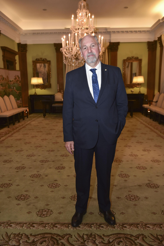 El embajador argentino en Rusia, Ricardo Ernesto Lagorio