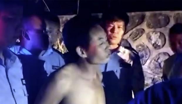 Yang Zanyun, el conductor de 54 años que fue arrestado por la policía (AP)