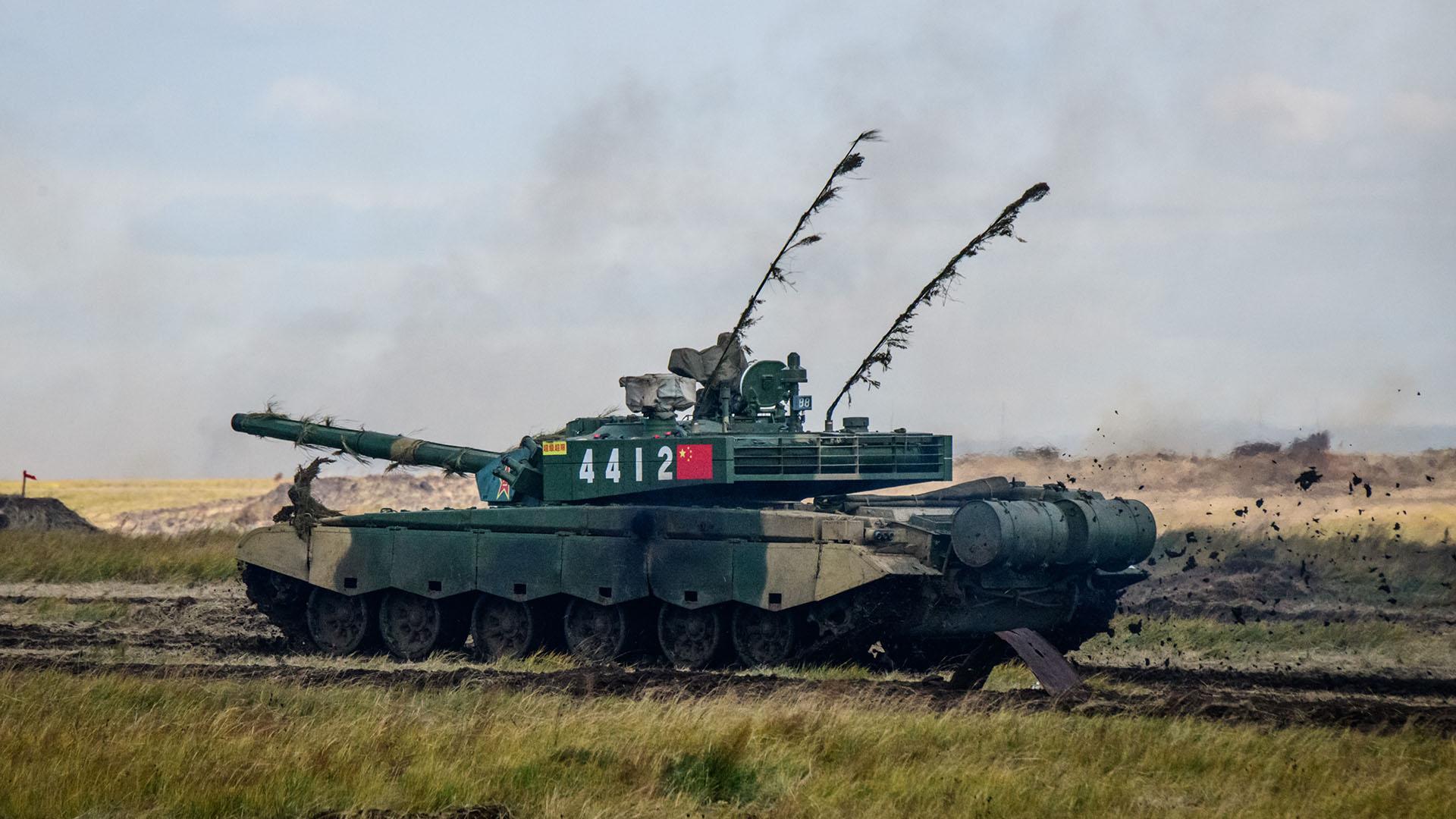 Un tanque chino Tipo 99