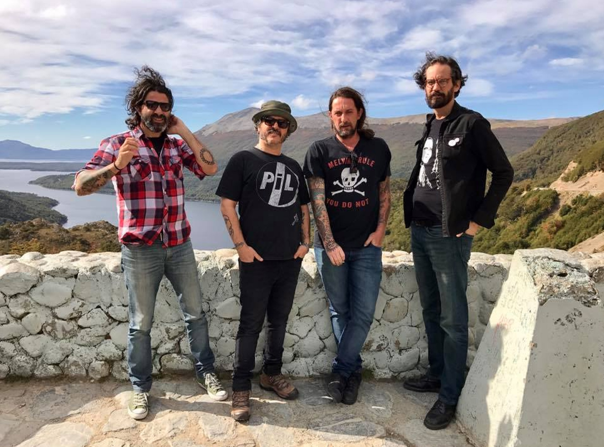 Los integrantes del grupo Pez de Buenos Aires (Facebook)