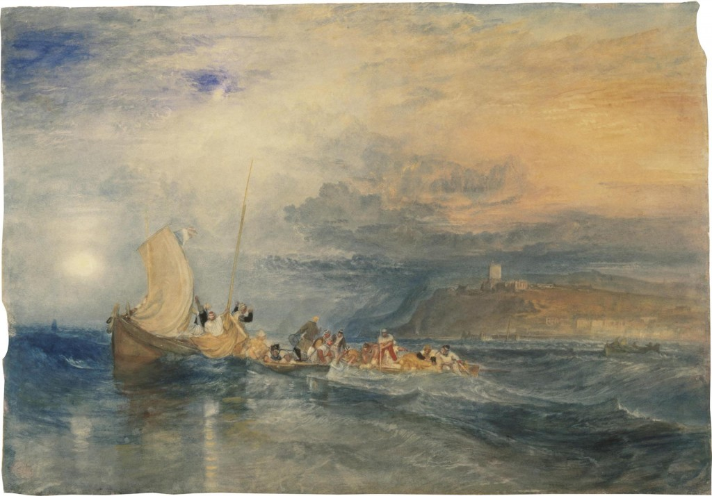 acuarelas de William Turner