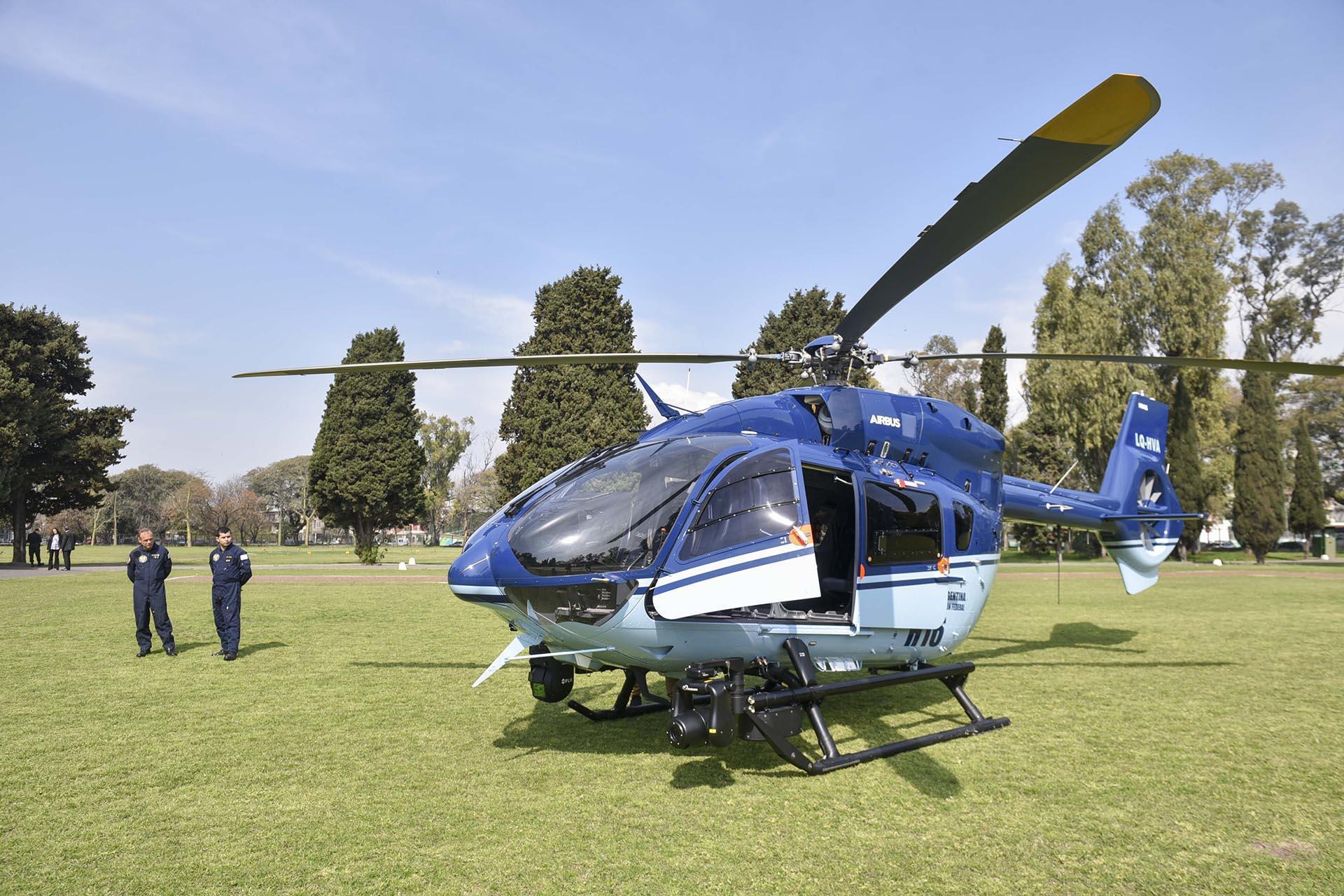 Resultado de imagen para Policía Federal (PFA) sumó el H145 de la empresa alemana Airbus, mientras que la Gendarmería Nacional (GNA) incorporó el AW169 fabricado por la italiana Leonardo.
