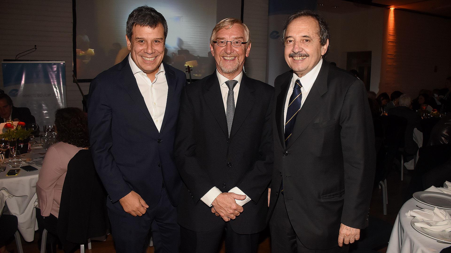 Facundo Manes, Manuel Álvarez Trongé y Ricardo Alfonsín