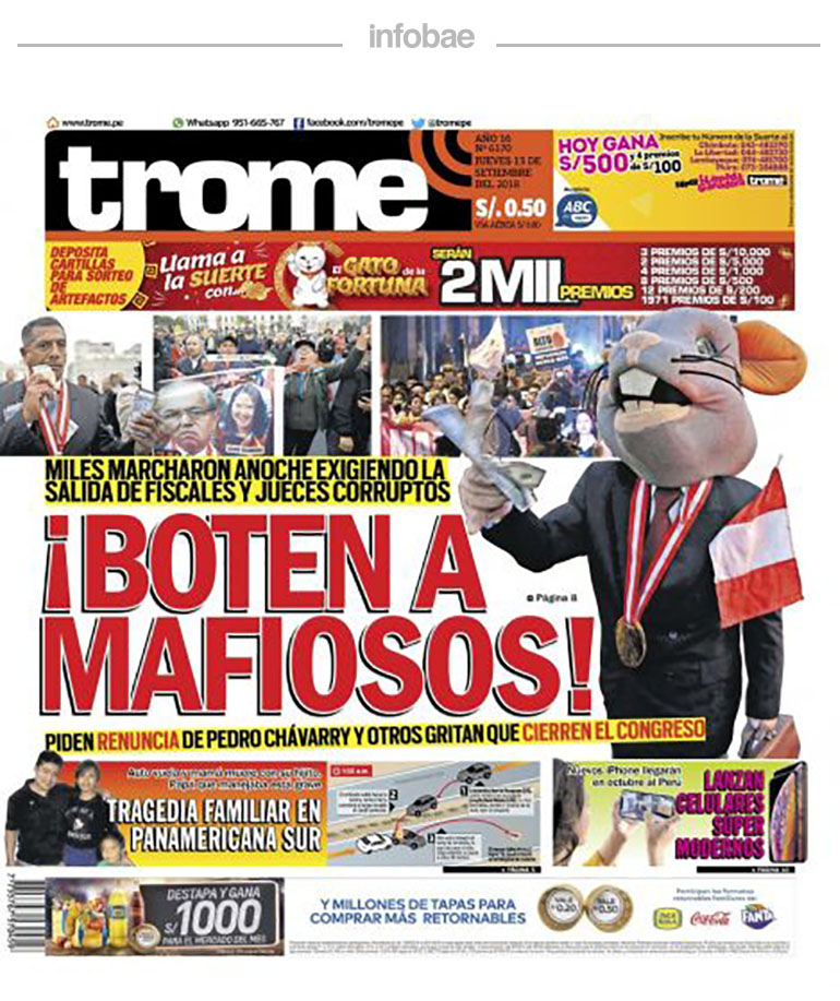 Trome Perú Viernes 14 De Septiembre De 2018 Fm Signos 909 Gaiman