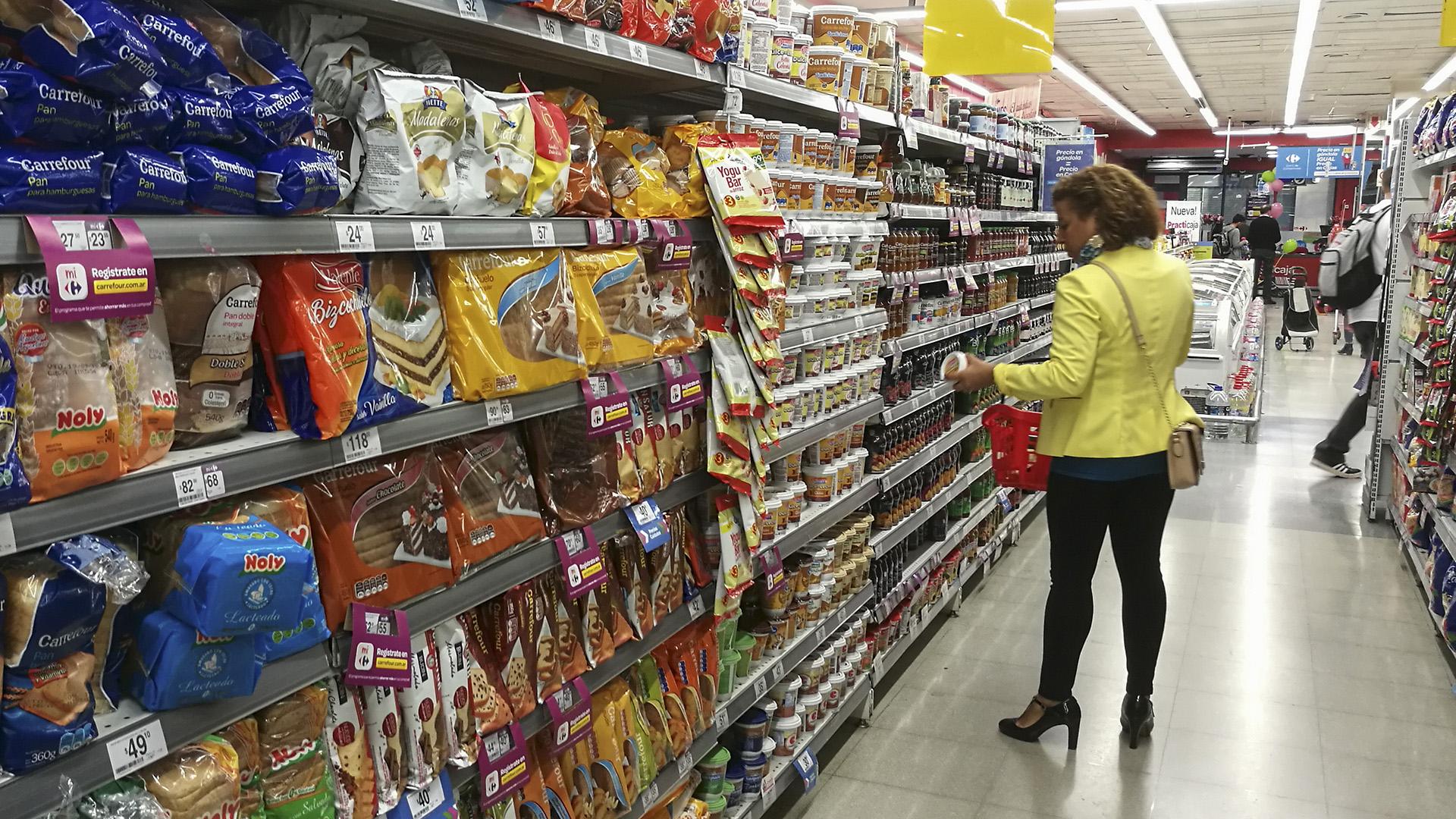 Los alimentosencabezan la carrera de precios en 2019.