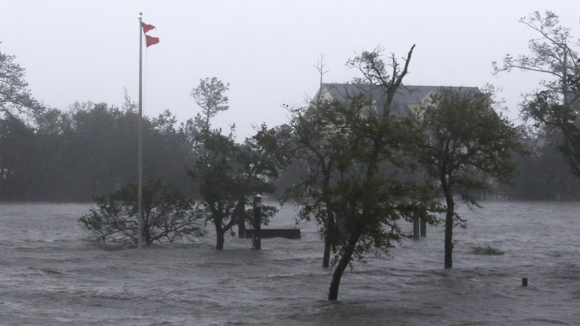 Las inundaciones son una preocupación para la población (AP Photo/Tom Copeland)