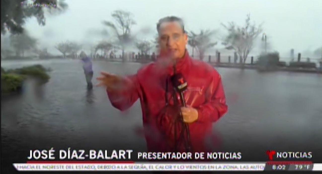 """José Díaz-Balart es el presentador de """"Noticiero Telemundo"""""""