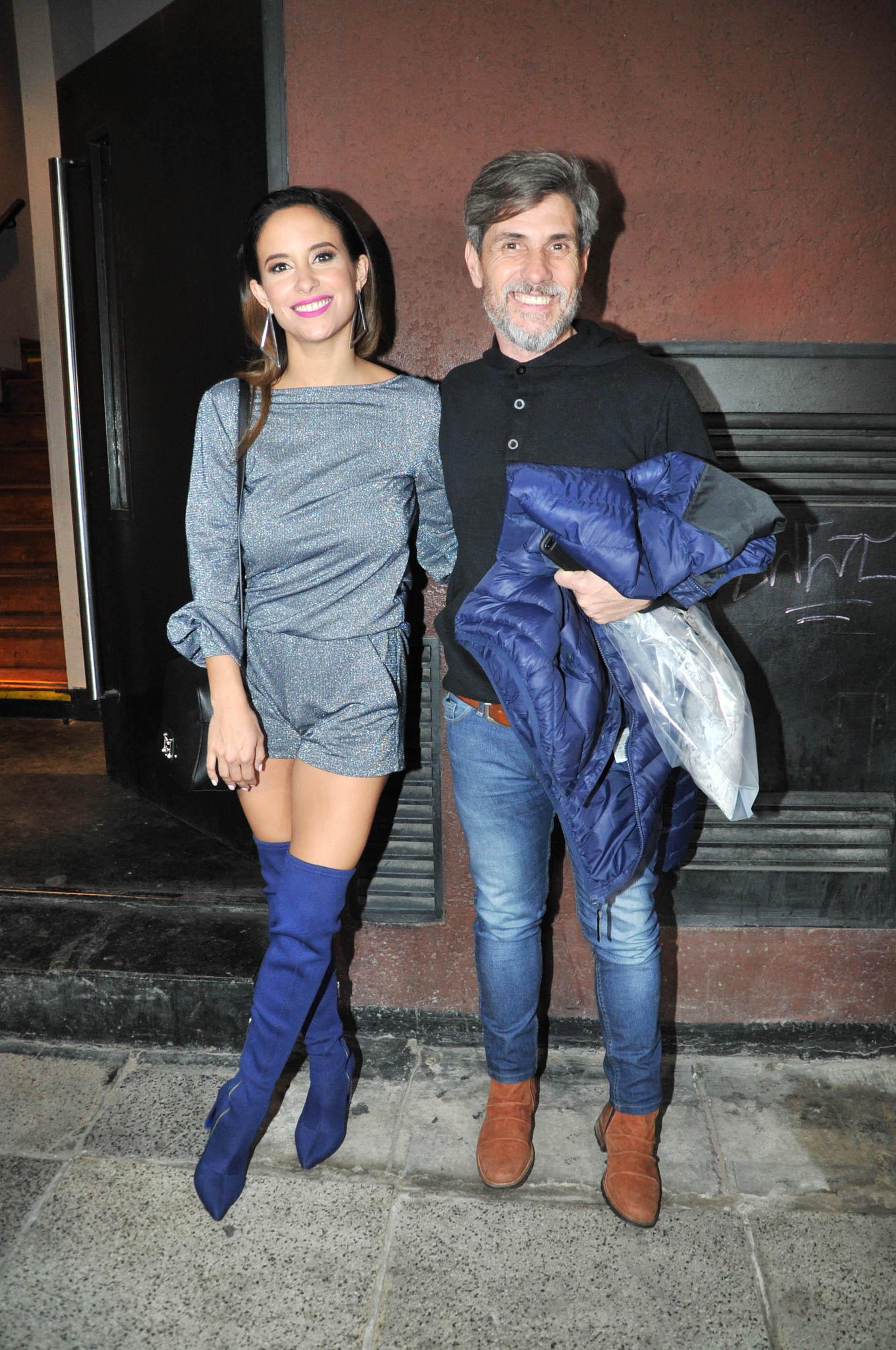 Lourdes Sánchez y el Chato Prada
