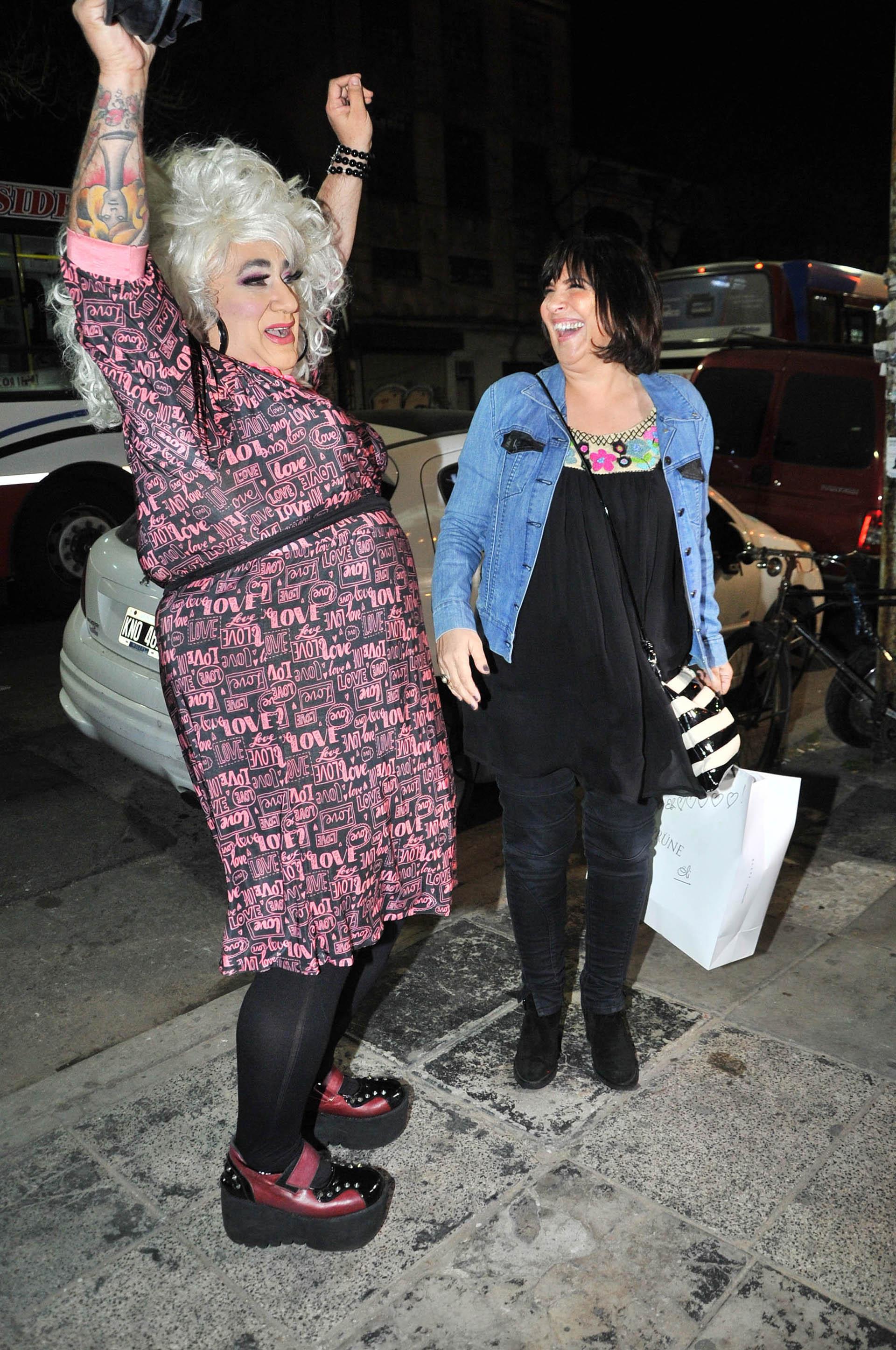"""""""La Barbie"""" y Elizabeth Vernaci"""