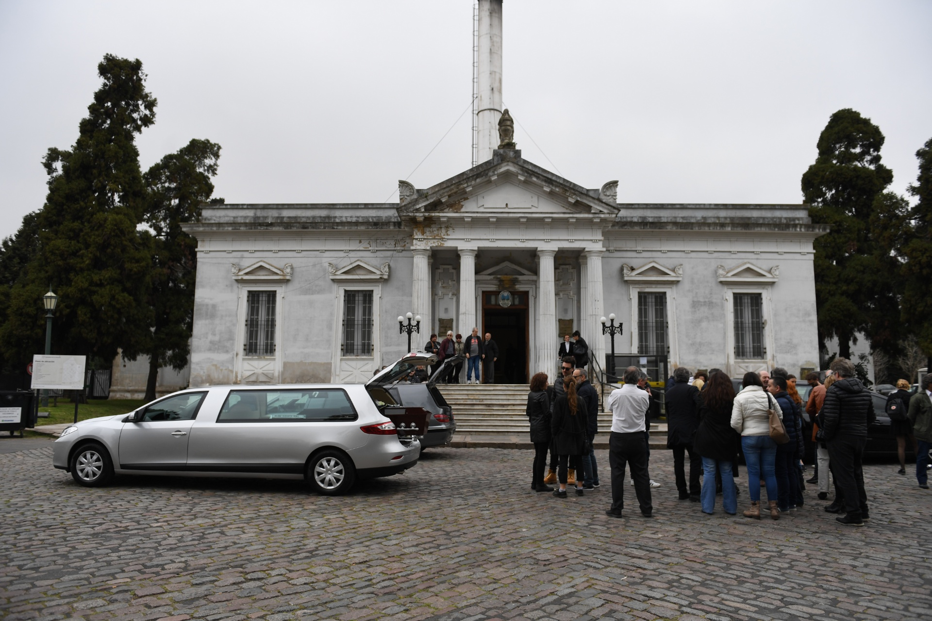 El cementerio de la Chacarita
