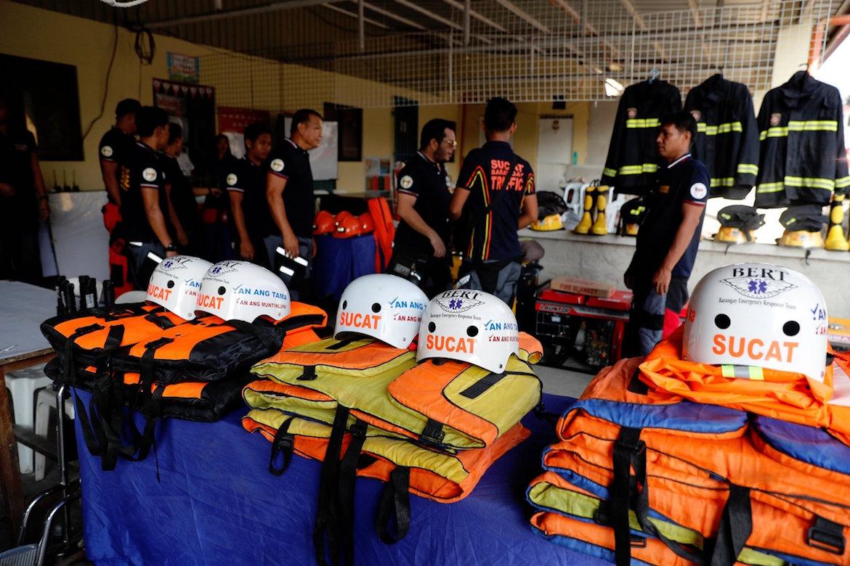 Las autoridades Filipinas han puesto en marcha una evacuación masiva
