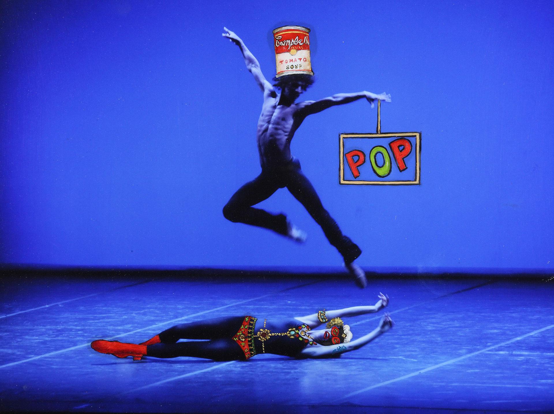 HIGH-POP: Los bailarines pop celebran a Andy Warhol y su Campbell soup