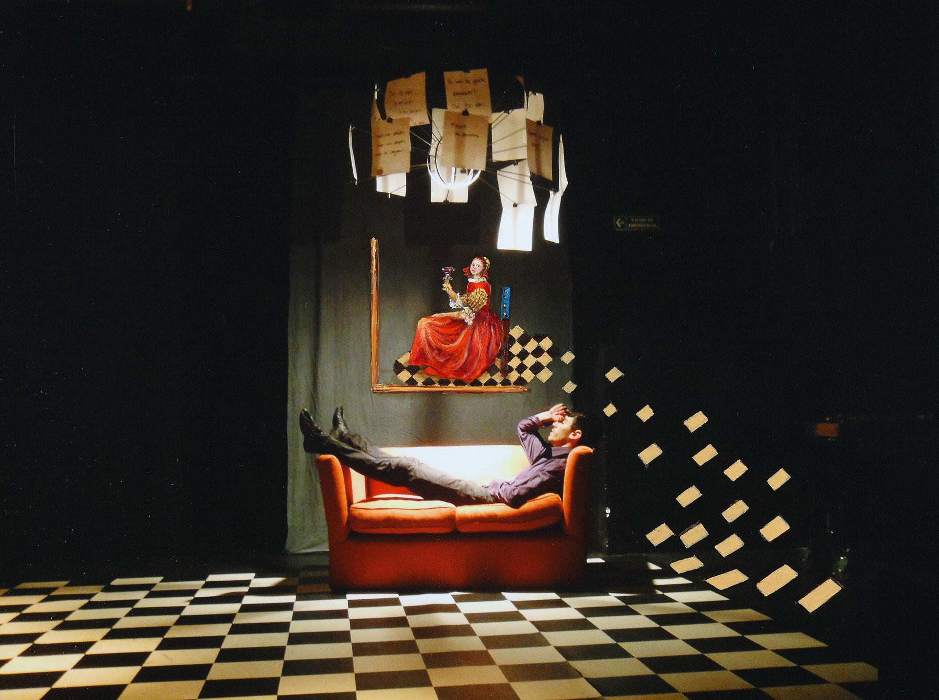 ENSUEÑO EN DELFT: La siesta en Delft soñando con Vermeer