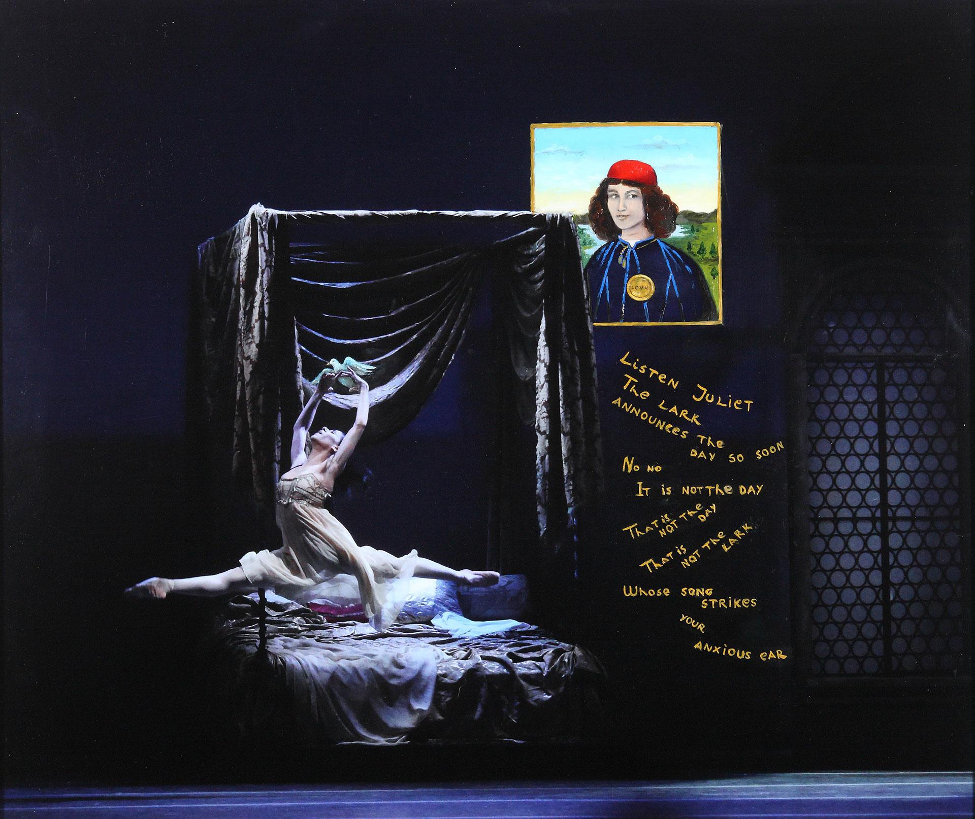 """""""…NO ES LA AURORA"""": Paloma Herrera es Julieta. La paloma-alondra quiere volar. Y bailan laspalabras de Shakespeare, junto a Romeo desde un cuadro de Botticelli"""