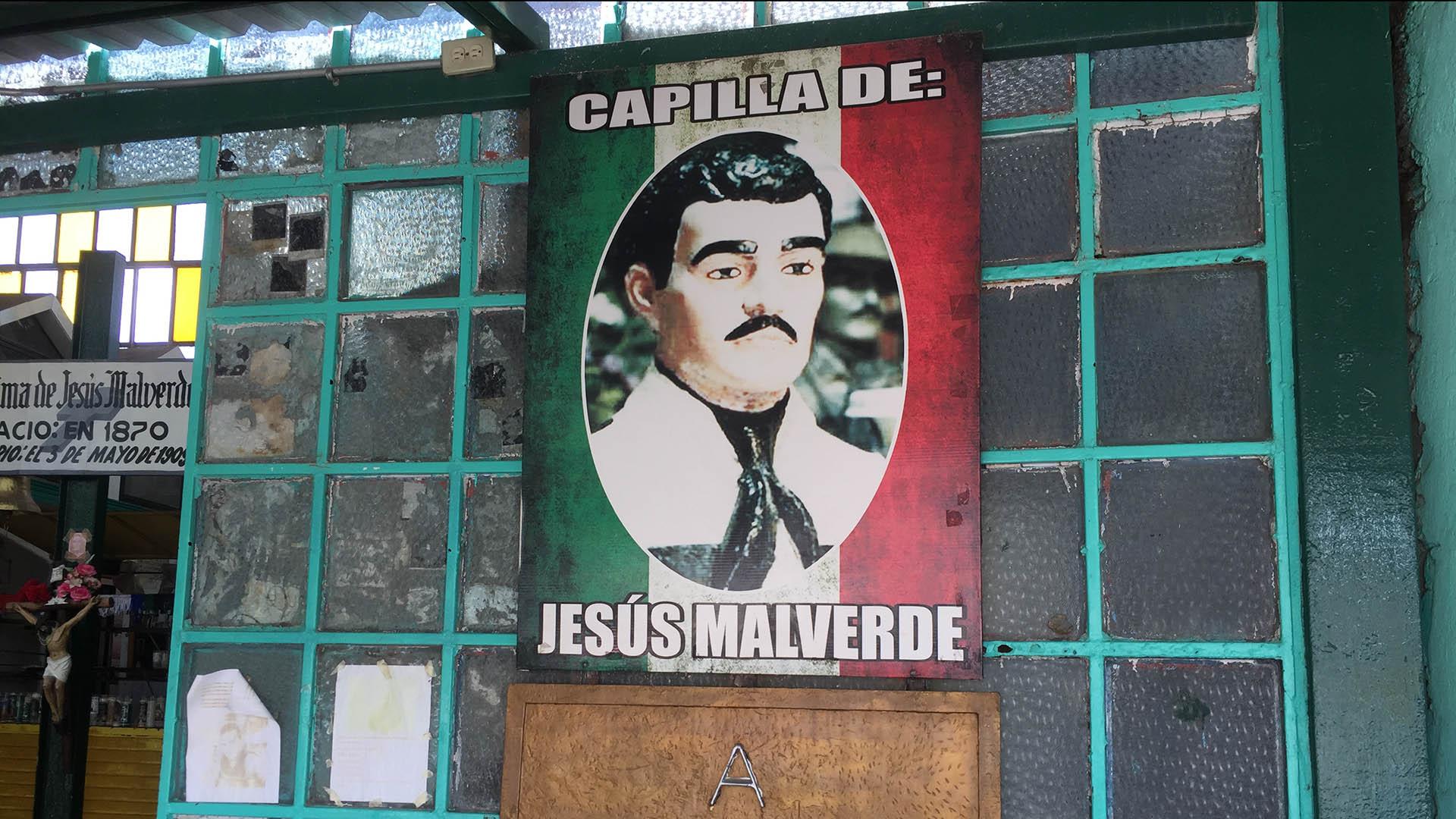 El ya famoso Templo a Jesús Malverde en Culiacán