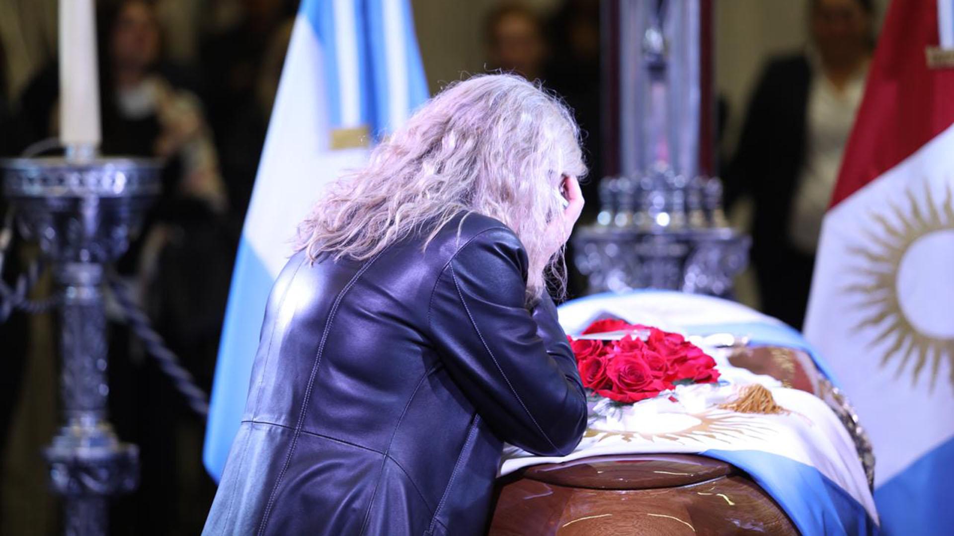 Tristeza en la última despedida del dirigente cordobés