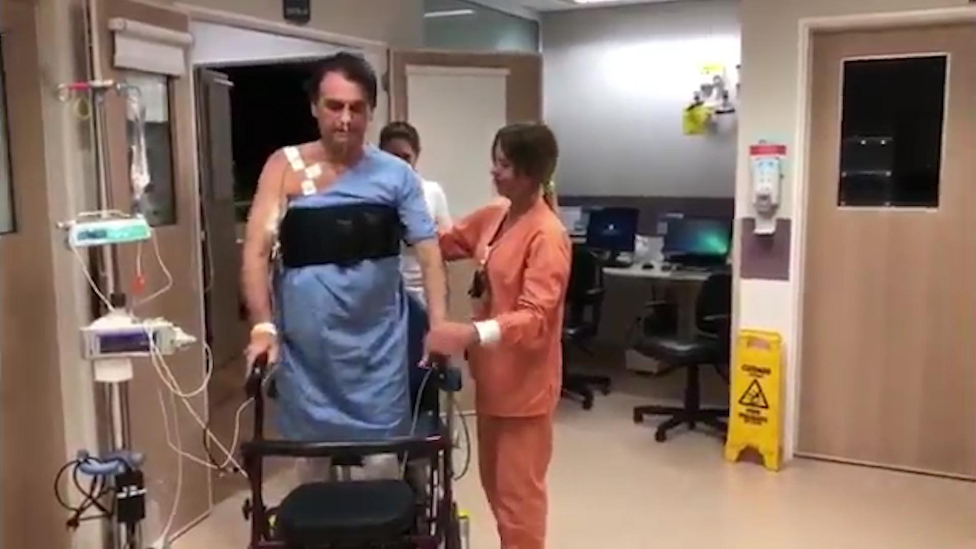 Jair Bolsonaro fue dado de alta luego de tres semanas hospitalizado