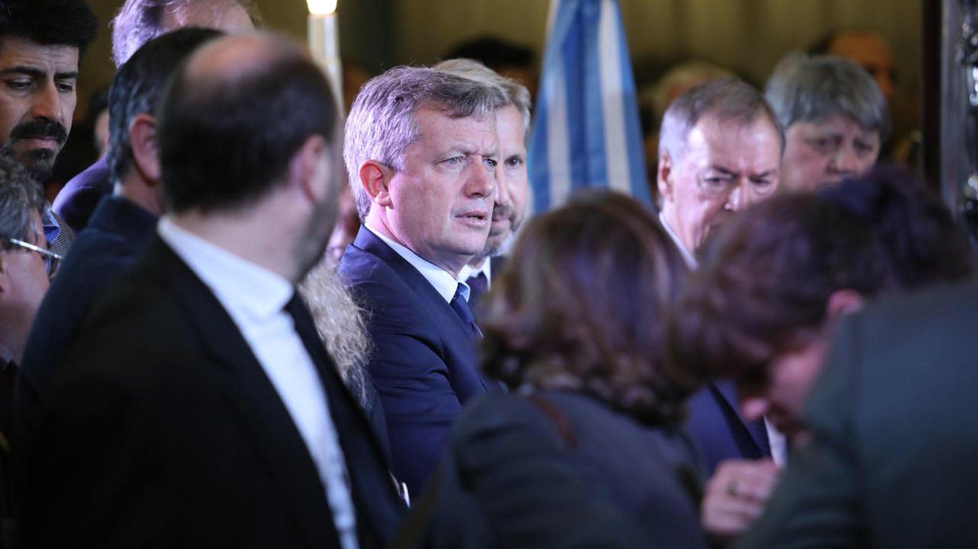 El presidente de la Cámara de Diputados de la Nación, Emilio Monzó, también se hizo presente