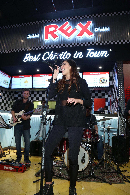 El show de Renata Repetto en la apertura de Chivitos Rex