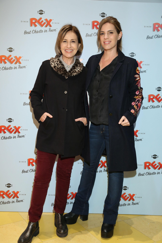 La actriz Mercedes Morán junto a su hija Mey Scapola